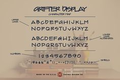 Grifter Architect Blueprint Writing by Haynie Design Co. Architectural Writing, Architectural Lettering, Hand Lettering Alphabet, Brush Lettering, Lettering Design, Nice Handwriting, Improve Handwriting, Handwriting Styles, Graphic Design Letters