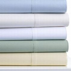Belvedere 6 pc Queen Size Sheet Set - Fitted, Flat & 4 Pillowcases #800t #greensheets