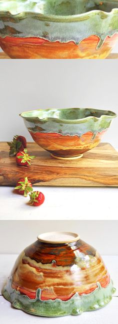 Flower Bowl from Lee Wolfe Pottery