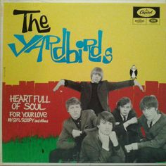 The Yardbirds - Heart Full Of Soul (Vinyl, LP, Album) at Discogs