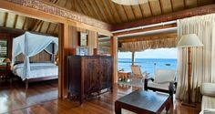 Hilton Bora Bora Nui Resort and Spa, French Polynesia - King Deluxe Overwater Villa Moorea Tahiti, Tahiti Nui, Bora Bora Hotels, Bungalow Resorts, Overwater Bungalows, Maputo, Luxury Rooms, Island Resort, French Polynesia