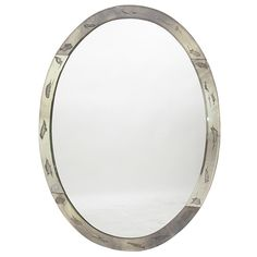 1940's Oval Mirror