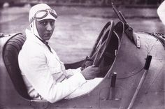 Hellé Nice, the tittalating French female race car driver of the 1920's and 30's.