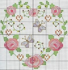 cross stitch chart. Can't get to the page but could use pin as example