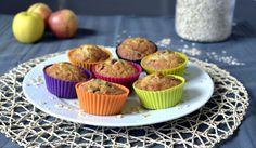 Muffins flocons d'avoine, pomme & raisins infusés Nakd #muffins #nakd #healthy  Quand julie patisse