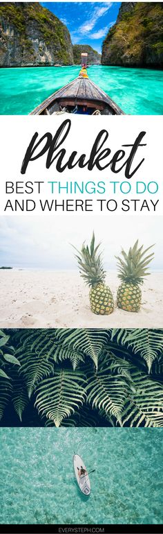 What to do in Phuket: there's more than the beach in Phuket! Click to discover the top things to do in Phuket and where to stay in Phuket. | Ohuket Thailand things to do | Phuket Thailand travel tips | Phuket Thailand beach | Phuket Thailand resorts - via @everysteph