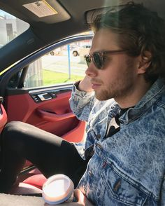 """""""hello, i'm mr. hemmings, im 22 years old, i am the music teacher. i play the guitar here and there since i was in a band. my younger sister actually goes here...kinda weird having your sister as a student but oh well"""" i chuckle"""