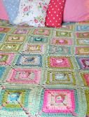 pattern for the sisterhood crochet blanket square. this is also a tutorial on learning to follow patterns and do different types of stitches.