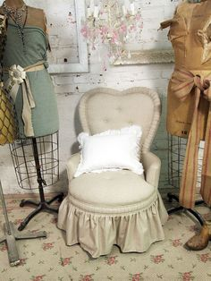 Love this chair.  Might prefer a slightly darker color to cover the inevitable dirt.