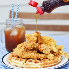 5 Brunches in Austin, TX - That You Need To Try  $2 Mimosas + Free Chicken & Waffles at Icenhauer's