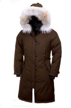 Canada Goose Kensington Parka Women Brown