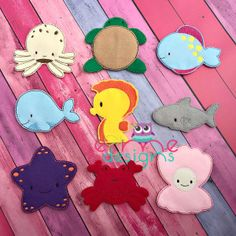 Finger Puppet – Sea