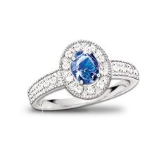 The Legend Of The Sapphire Ring: Sapphire And Diamond Ring