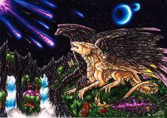 Starfall by Dae-Thalin.deviantart.com on @deviantART