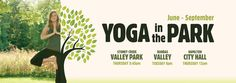During the summer months, we combine our love for yoga with our love for sunshine and the great outdoors! Between June and September, we offer FREE outdoor yoga classes at different locations around the City. Scroll down to see them all. Join us! #peaceOUTside   YOGA IN THE DUNDAS VALLEY: EVERY TUESDAY AT 6:00pm Meet us on...  More details Moksha Yoga, Valley City, Outdoor Yoga, Yoga Classes, Summer Months, The Great Outdoors, Tuesday, The Outsiders, Sunshine