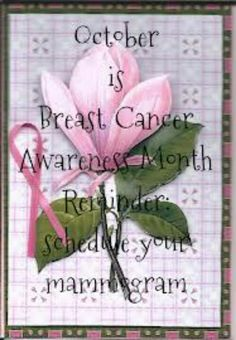 Although October is designated as National Breast Cancer Awareness Month, NBCAM is dedicated to raising awareness and educating individuals about breast cancer throughout the year. We encourage you to regularly visit these sites to learn more about breast cancer, breast health, and the latest research developments.