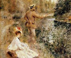 The Fisherman by Pierre Auguste Renoir