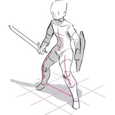 Как рисовать стойки с мечом - от профессионального художника жанра фэнтези