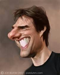 Tom Cruise Born: July 1962 Although Cancers are often the most shy sign of… Cartoon Faces, Funny Faces, Cartoon Art, Cartoon Characters, Caricature Artist, Caricature Drawing, Funny Caricatures, Celebrity Caricatures, Tom Cruise