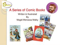 Stories of Simon is a series of Comic Books by Magdi Malky via slideshare
