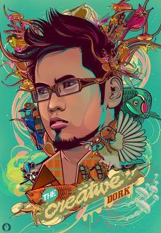 Vector Digital Art by Philippine based artist Vincent Rhafael Aseo.