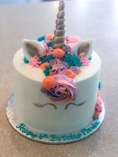 Unicorn Cakes, Unicorn Party, Birthday Cake, Treats, Desserts, Food, Unicorns, Sweet Like Candy, Birthday Cakes