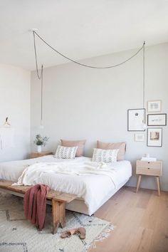 Chambre Vert Amande · Couleur Ideale Pour Chambre Adulte Couleurs A Choisir  Pour La Deco Moderne De Chambre Blanche Scandinave