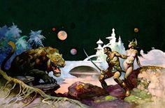 John Carter of Mars by Frank Frazetta