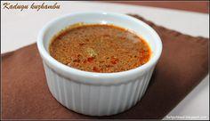 : kadugu kuzhambu (Mustard gravy)