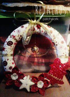 Ref.: CR_NT_05 Coroa de Natal / #Christmas Handmade #Patchwork