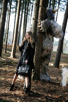 Lindsey Wixson for Mulberry Ad campaign (Fall by Tim Walker.