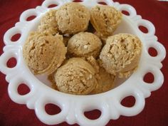 SouthernPlate Peanut Butter Balls  Filled with protein!