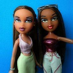 Bratz Doll Makeup, Bratz Doll Outfits, Gumball, Bratz Yasmin, Black Bratz Doll, Brat Doll, Bratz Girls, Barbie, Harry Potter