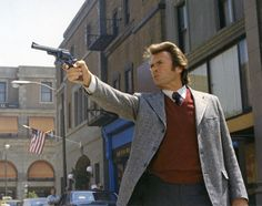 Stock Photo - Clint Eastwood / Dirty Harry 1971 directed by Don Siegel Actor Clint Eastwood, Scott Eastwood, Westerns, Male Pose Reference, Movie Lines, Hollywood, Music Tv, American Actors, Movie Stars