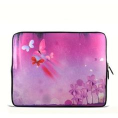 "Pink theme 17.1"" 17.3"" inch Laptop Bag Sleeve Case for Apple MacBook pro 17/Dell Inspiron 17R Vostro XPS Alienware M17x/Samsung 700 Sony Vaio E 17/ HP dv7 ENVY"