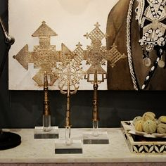 Ethiopian Crosses And Urchins In Marble (fenton) · African Home DecorChic  ...