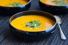 Carrot Soup with Ginger and Turmeric