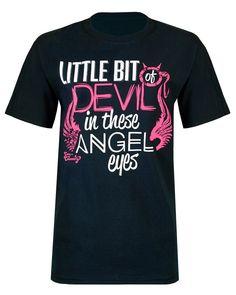 Little Bit of Devil in These Angel Eyes T-Shirt