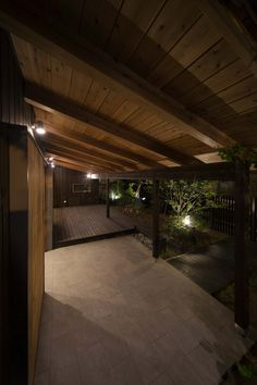 Asian Interior, Model Homes, Architecture Design, Pergola, Deck, Outdoor Structures, Rustic, Lighting, Wood