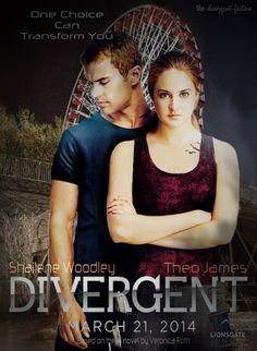 Divergent, Can't Wait for this movie!!