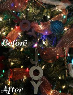 Ornament Makeover Sophistishe.com