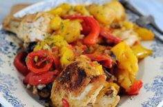 Cheap family meals: Recipes under per head - One pot chicken pepper bake - goodtoknow Cheap Family Meals, Healthy Family Meals, Healthy Food, Healthy Eating, Cooking On A Budget, Budget Meals, Budget Recipes, Cheap Recipes, Yummy Recipes