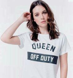 Adelaide Kane, Ravens, Off Duty, Dark Hair, Reign, Feminism, Badass, Attitude, Oc