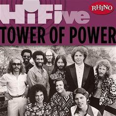 Tower of Power - another favorite. Seen them numerous times. Always Awesome in concert! Soul Music, Music Tv, Music Bands, Classic Rock Albums, Tower Of Power, Funk Bands, Hi Five, Jazz, Old School Music