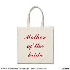 Mother of the Bride Tote Budget Canvas Unique Gifts, Great Gifts, Best Tote Bags, Mother Of The Bride, Budgeting, Hot Pink, Graduation, Reusable Tote Bags, Accessories