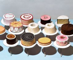 Cakes. Sharon Core. 2004 [oh i have always loved this.]