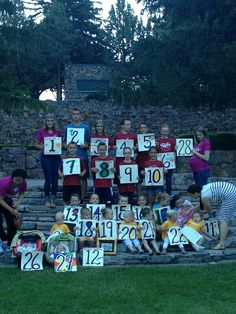 we started the reunion on the 'fourth of july' one day the boys went down the provo river kayaking, while the girls got pedicures and. Family Reunion Games, The Reunion, Family Reunions, Family Reunion Crafts, Family Games, We Are Family, Family Affair, Family Memories, Humor