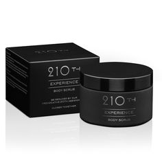 The 210th Experience body care line will always seduce you with the hidden assignments behind the QR code inside the package. This softening and moisturizing body scrub will give you smooth and silky skin. Fragrance: Mix of Linden Blossom, Freesia, Amber, Musks, Vanilla fudge and Fruits. Instruc