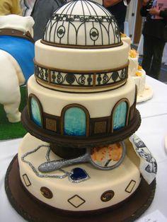 Titanic inspired cake