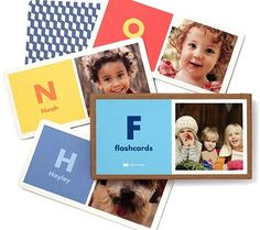 Pinhole Press personalized flashcards | coolest birthday gifts for 2 year olds
